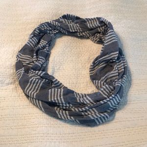 Accessories - Blue with white stripes infinity scarf